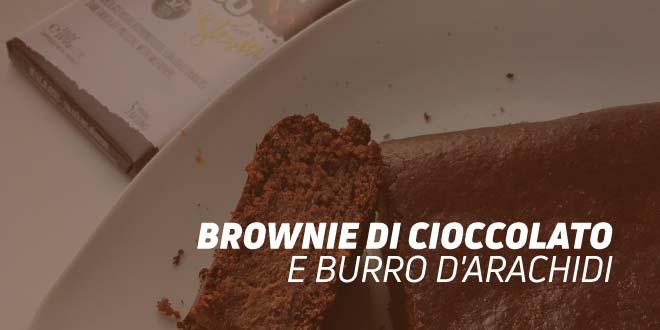 Brownie di cioccolato e burro d'arachidi